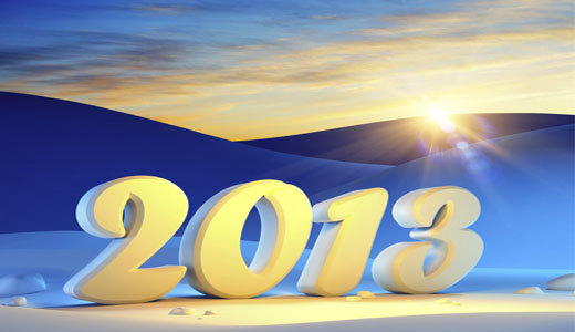 新年快乐 2013祝福